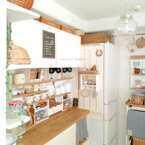 憧れの【カフェ風キッチン】を実現♡おしゃれ&実用性を叶えたみなさんの実例をご紹介