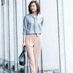 コーデをワンランクアップする「ピンク系パンツ」☆大人フェミニンコーデ集
