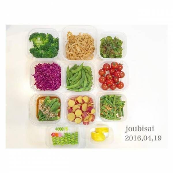 彩り野菜の常備菜