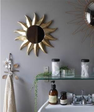 [Global Forme Concrete] ALBINA wall mirrorアルビナウォールミラー【鏡】