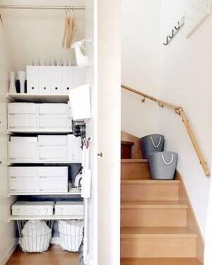 暮らしを向上させよう♡《階段下収納》を有効的に使うみなさんのアイデア特集!