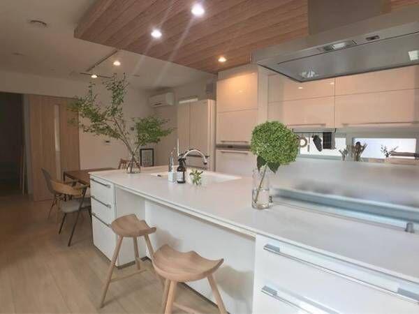 キッチンインテリア調理台