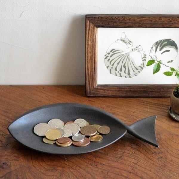 魚モチーフの飾り皿