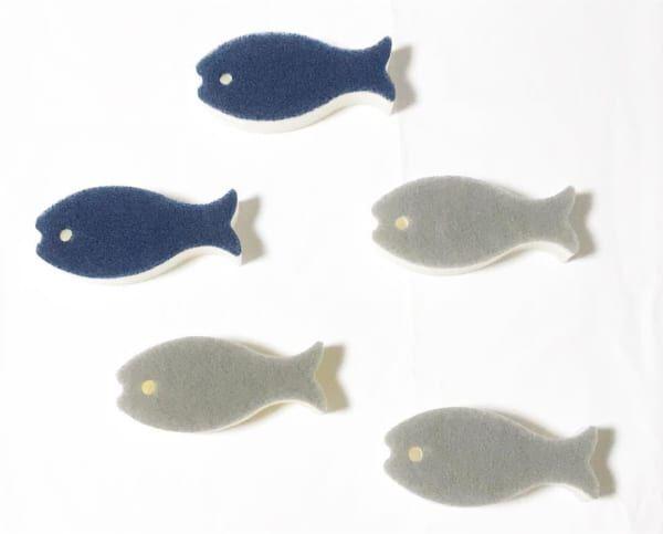 魚モチーフのスポンジ