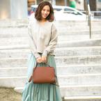 ラフ&カジュアルで大人可愛く♡春のこなれ感は「消しプリーツスカート」で叶えよう♪