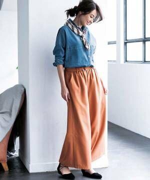 [GeeRA] ゆるっとシルエットが可愛いデニムシャツ