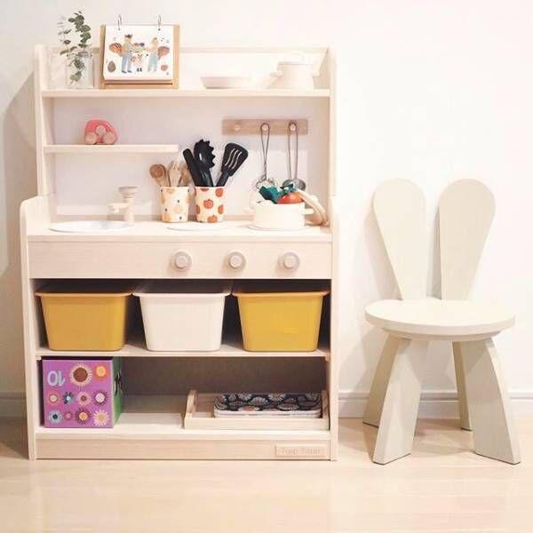 これで解決!子供と暮らすリビングでおもちゃなどを収納する方法