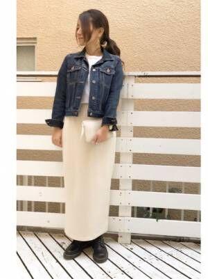 プチプラスカート×大人女子