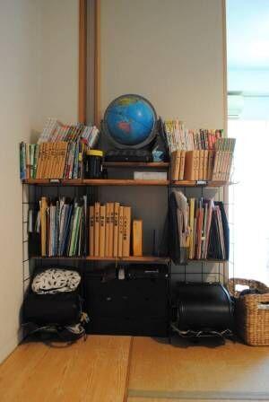 子どもが自分で片づけられる仕組み作り学校用品収納
