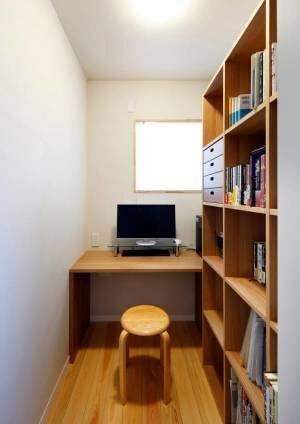 デスクワークが出来る書斎