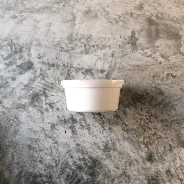 セリア保存容器ホワイト化