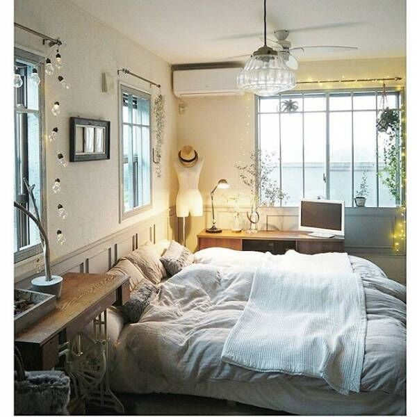 快適な空間でリラックス♡ゆったりくつろげる「寝室 ...