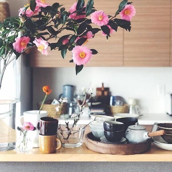 花を飾った素敵なお部屋☆暮らしを彩り気分を上げる生花をインテリアに