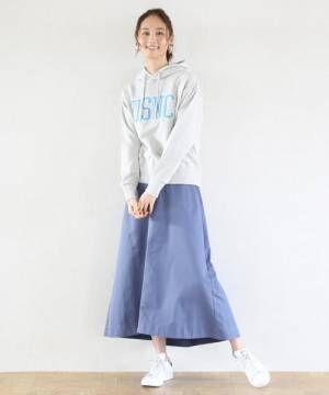 フレアロングスカート2
