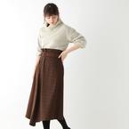 着るだけでオシャレ見え!今年も注目の「切り替えスカート・ワンピース」をご紹介♪