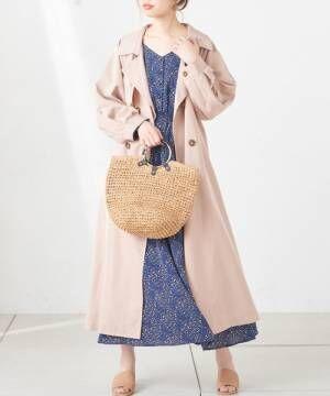 [natural couture] レディドレストレンチ
