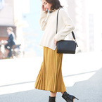 30代〜40代女性向け♡ミモレ丈・ロングスカートを使ったきれいめ春コーデ特集!