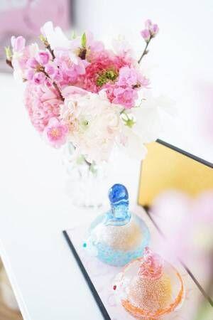 ひな祭り花飾り