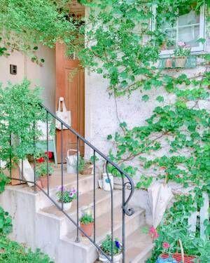 小さなスペースで始める♪玄関やエントランスを飾る《ガーデニング》アイデア特集!