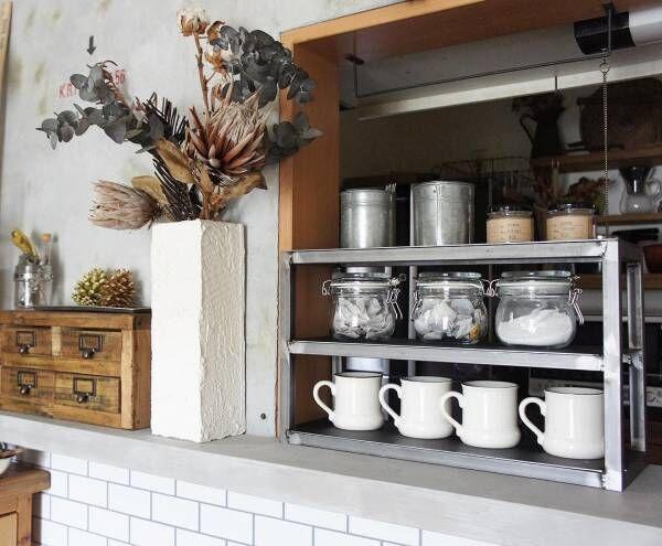 魅せるカウンターキッチンに!キッチンとリビングを繋ぐカウンターの使い方とは