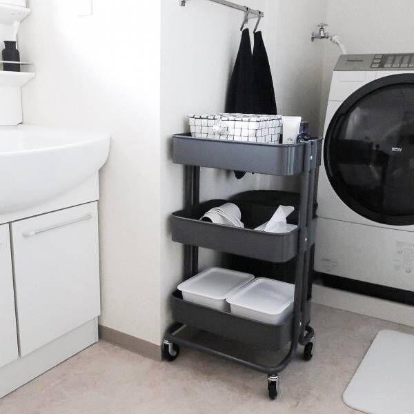 人気の【IKEA】ワゴン収納☆おしゃれで便利なロースコグで快適生活♪