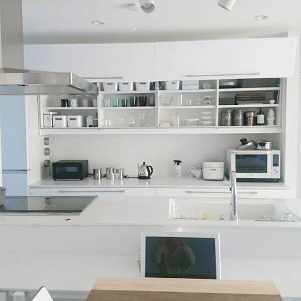 ホワイトキッチンシンプル2