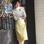 スッキリシルエットでレディに♡タイトスカート・ナロースカートの着こなし術
