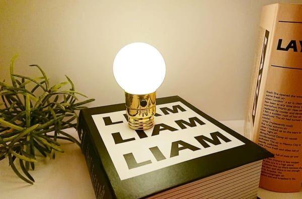 キャンドゥ電球型LEDライト