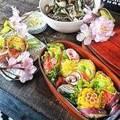 花も料理も満喫する!桜に負けない華やかなお花見弁当を作ってみよう♪