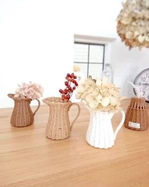 どんな花器で飾る?オシャレな《花器》をゲットして憧れの「花のある暮らし」を実現♪
