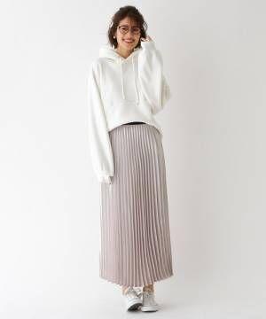 [aquagirl] パッチワークフラワープリーツスカート