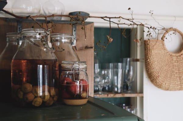 古道具好きさんの素敵なキッチン:団地リノベーション6