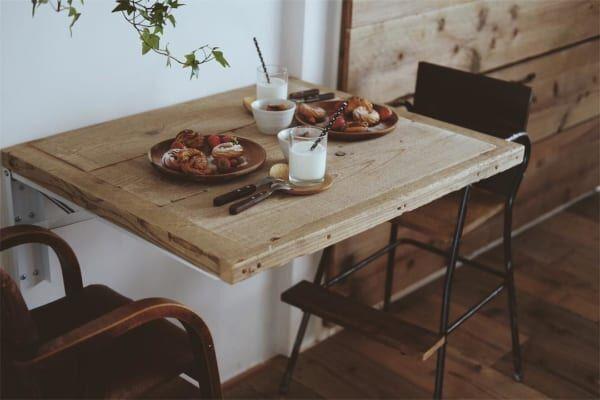 古道具好きさんの素敵なキッチン:団地リノベーション9
