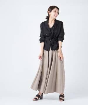 [glamb] Lian flare SK / リアンフレアスカート