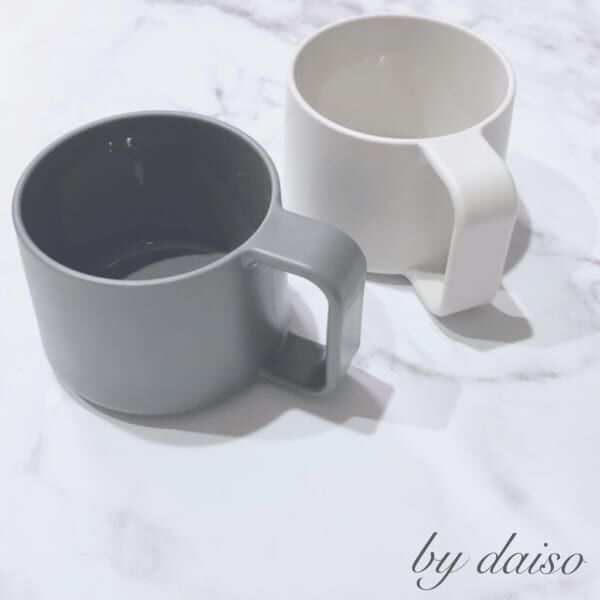 ダイソーデザインカップ
