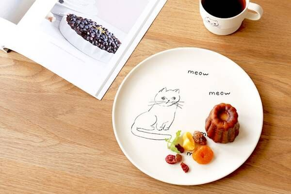 可愛らしいテーブルコーディネートにぴったり!《猫モチーフ》の食器を取り入れよう♪