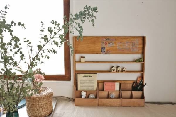 【連載】自由に組み合わせる!小さい物も飾れる大容量の収納デスクラック