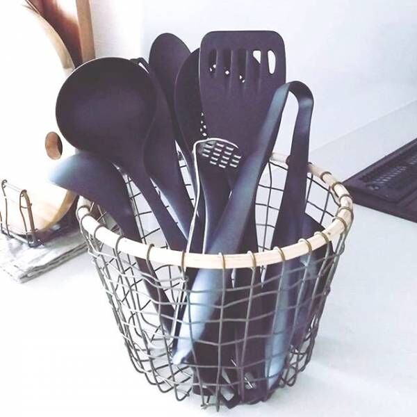ズボラでも大丈夫!キッチンはワンアクション収納で片付けよう。