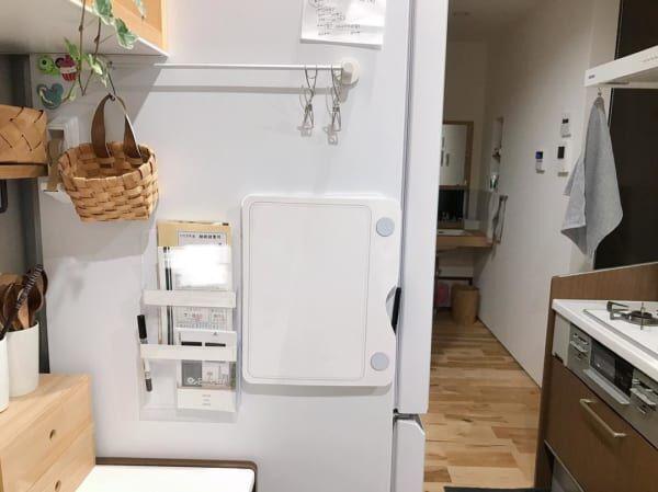 冷蔵庫 側面 収納