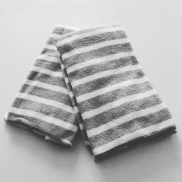 ダイソー/マイクロファイバー使用バスタオル