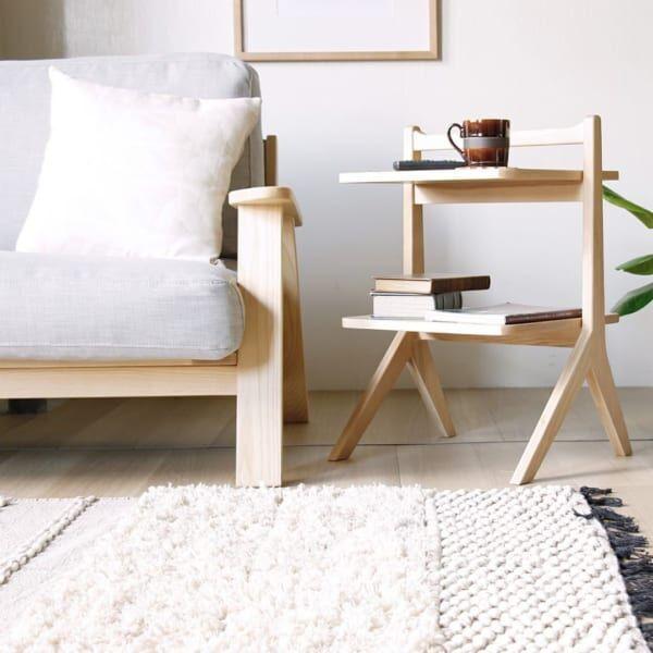 オシャレなサイドテーブルで生活を豊かに♪ちょい置きに便利なサイドテーブル特集