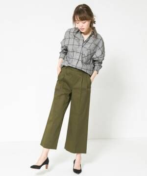 URBAN RESEARCH ROSSO WOMEN チェックシャツ