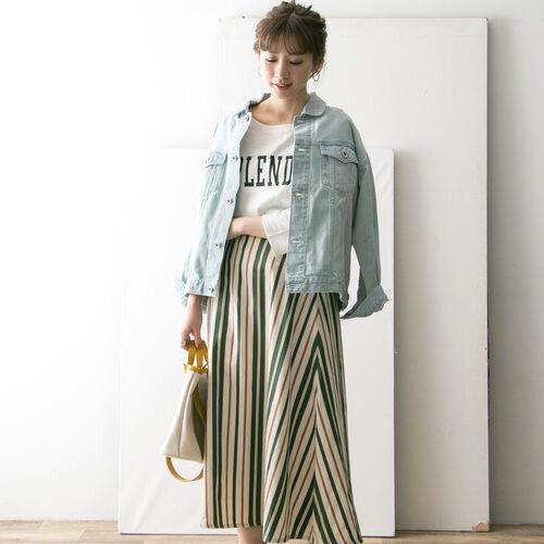 目指せスタイルアップ☆春夏はストライプ柄スカート&パンツに注目!