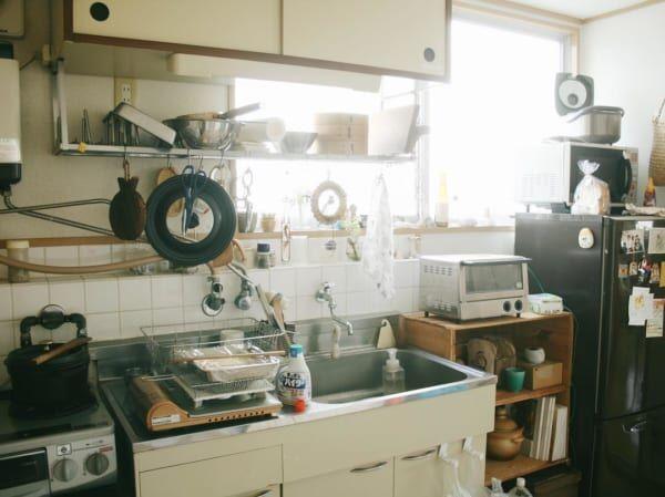 キッチンが主役。お料理上手さんの素敵なインテリア2