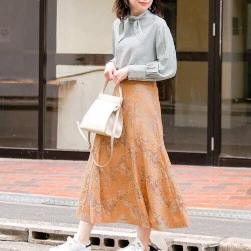 大人っぽく着たい!「レース・チュール・プリーツ」甘め3大スカート♡