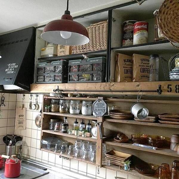 スパイス棚カフェスタイル