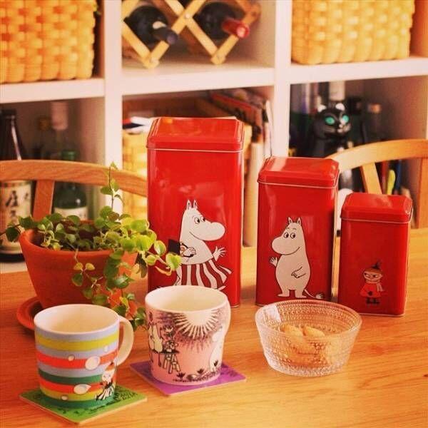 キッチン収納に便利な缶