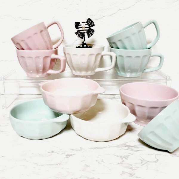 淡い色で可愛らしさが魅力的!【セリア】のパステルカラーのアイテム8選
