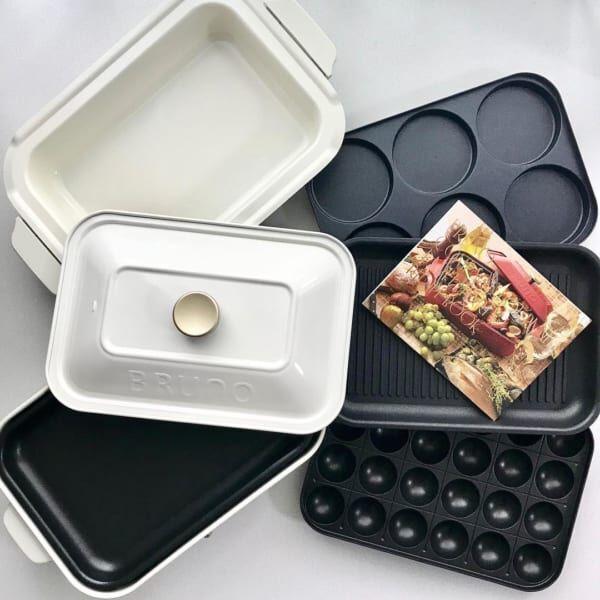 料理の幅が広がる♡【BRUNO( ブルーノ )】のホットプレート!