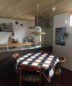 ダイニングテーブル カフェ風2